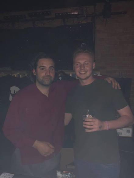 Me and Laurie from Club Kuru, great guy!