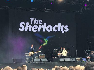 The Sherlocks performance