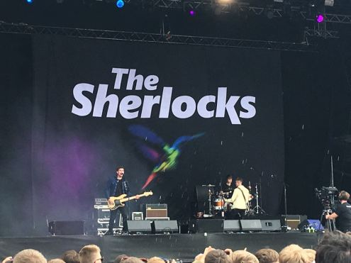 The Sherlocks performance